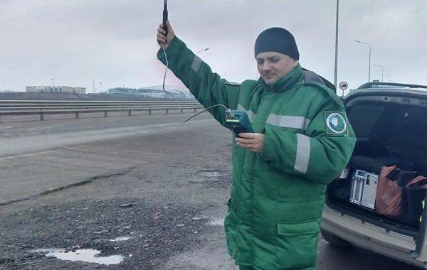 Участие сотрудников Ростовской испытательной лаборатории  ФГБУ «ЦЛАТИ по ЮФО» в рейде  на границе санитарно-защитной зоны аэропорта «Платов».